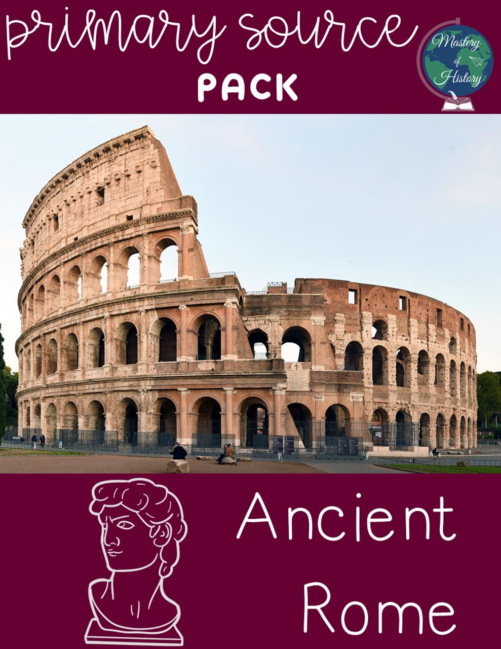 Ancient Rome Primary Source Pack (Google Compatible)