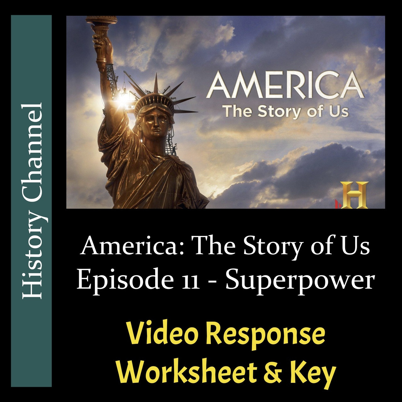America The Story Of Us Episode 11 Superpower Video Response