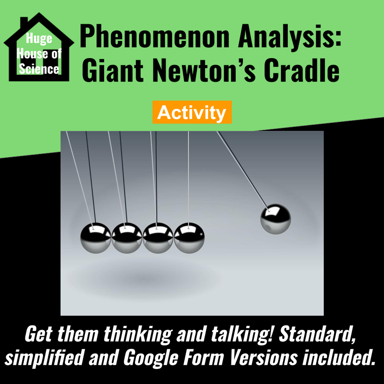 Phenomenon Analysis: Giant Newton's Cradle (MS-PS3)