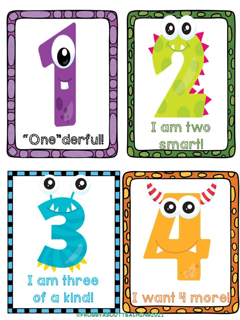 1-5 Number Activities Freebie