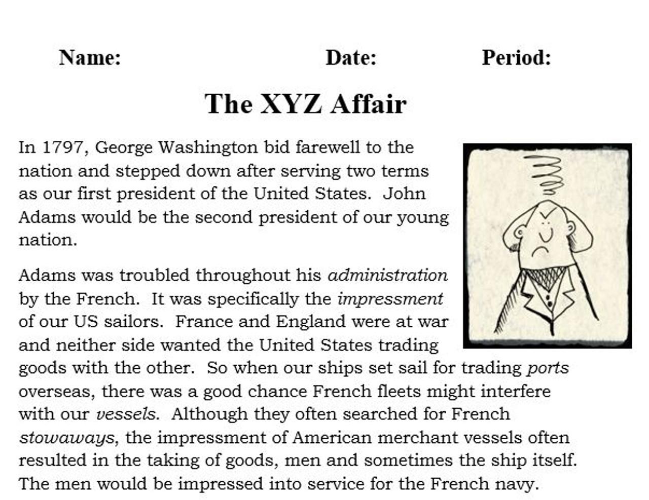 XYZ Affair - (TRTW) - Talk, Read, Talk, Write