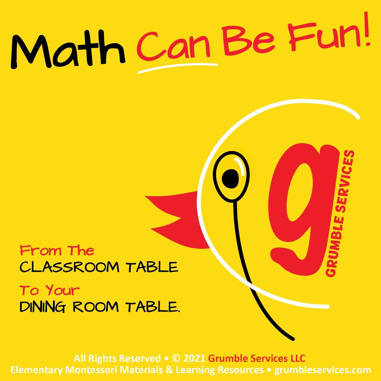 Multiplication & Mystery BUNDLE I: 6s 7s 8s 9s - ROOKIE Elementary Montessori Math help
