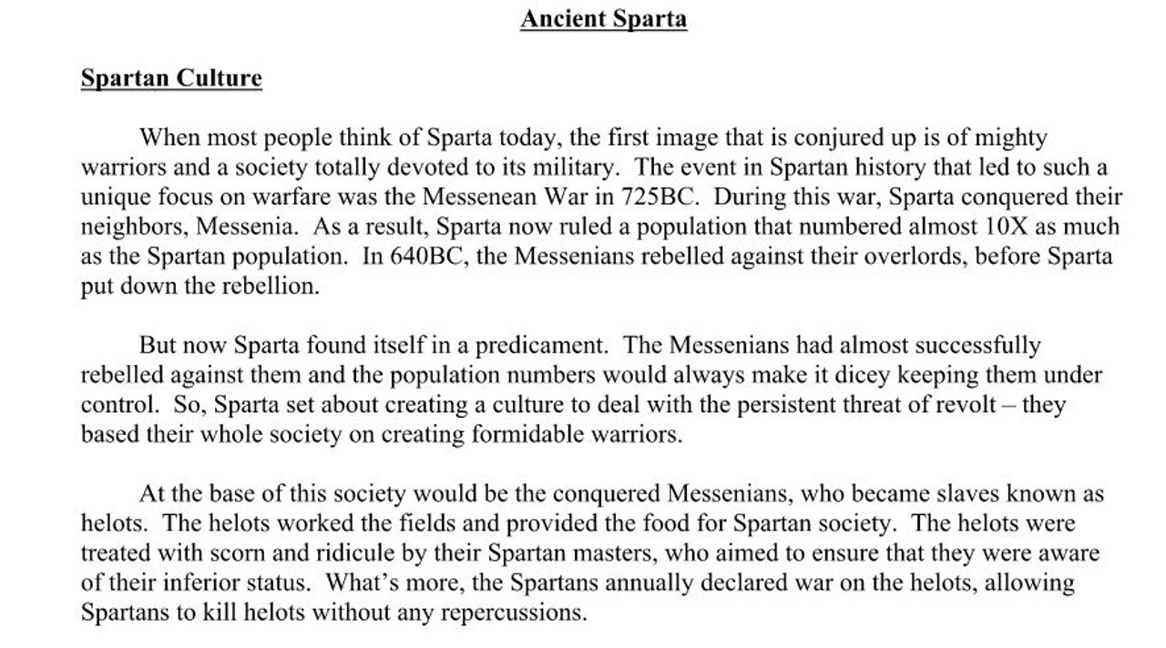 why was athens better than sparta