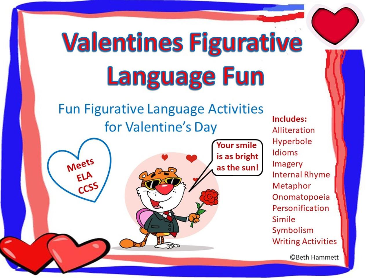 Valentine's Day Figurative Language Fun