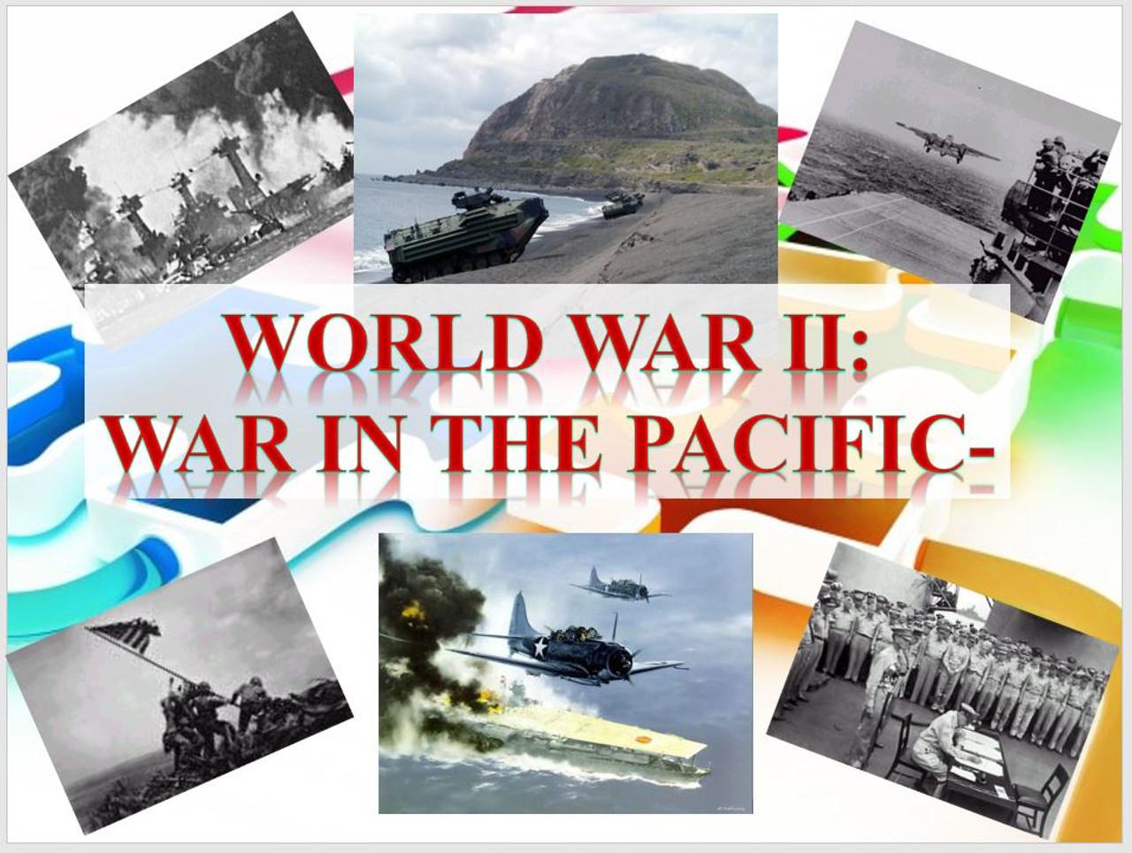 World War II-War in the Pacific