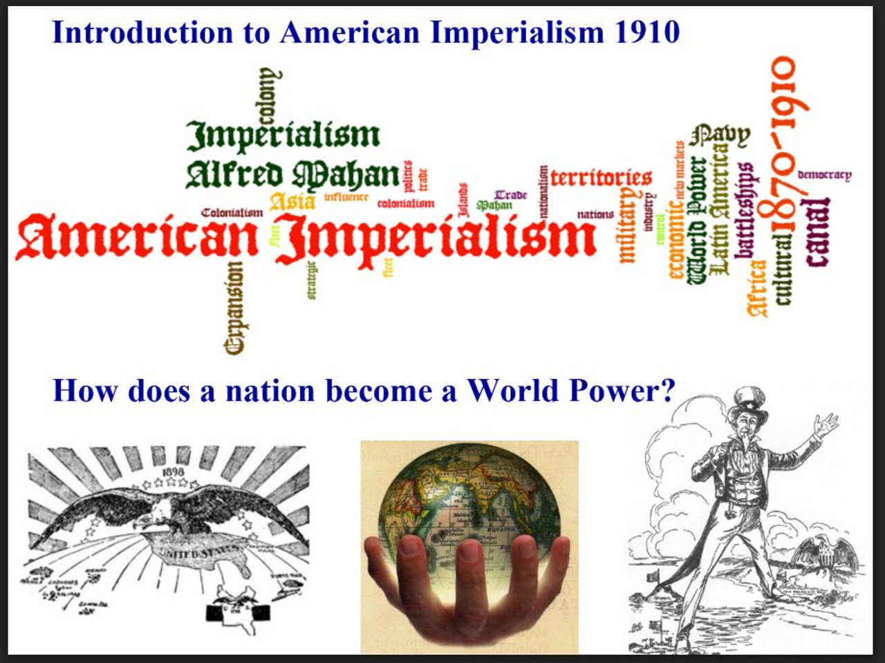 American Imperialism- An Introduction