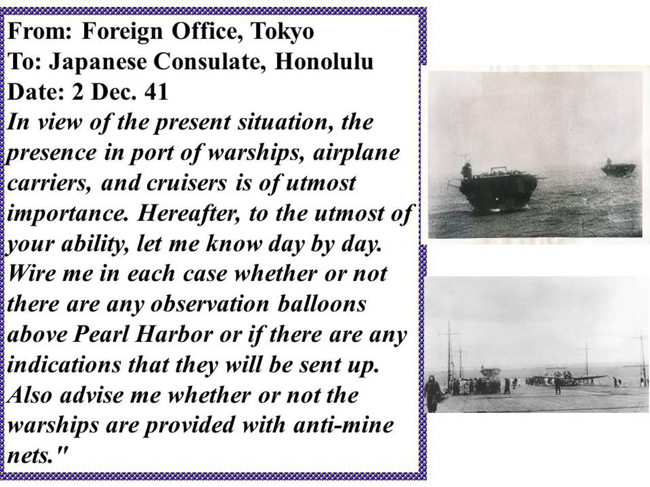 Codes of War-Pearl Harbor