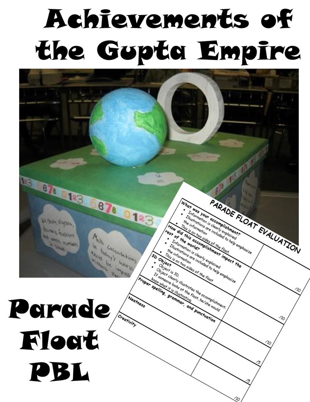PBL- Gupta Empire Parade Float - Ancient Indian Inventions and Discoveries