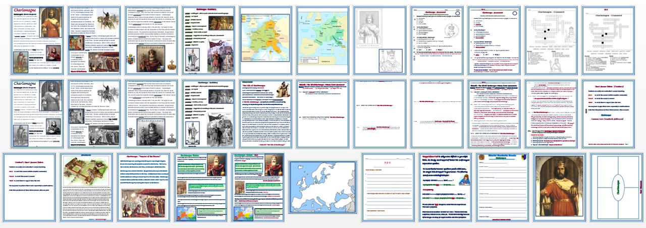 Charlemagne + Assessment