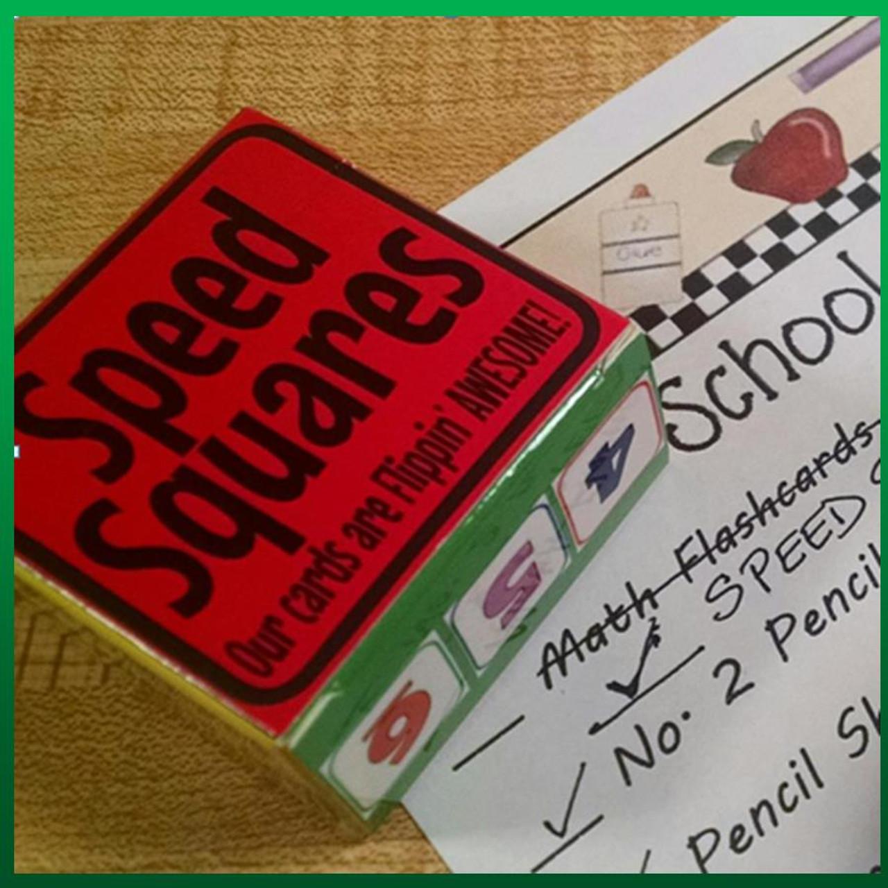 Math SPEED SQUARES!!!