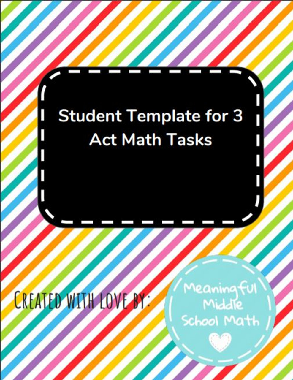 3 Act Task Template Student Template