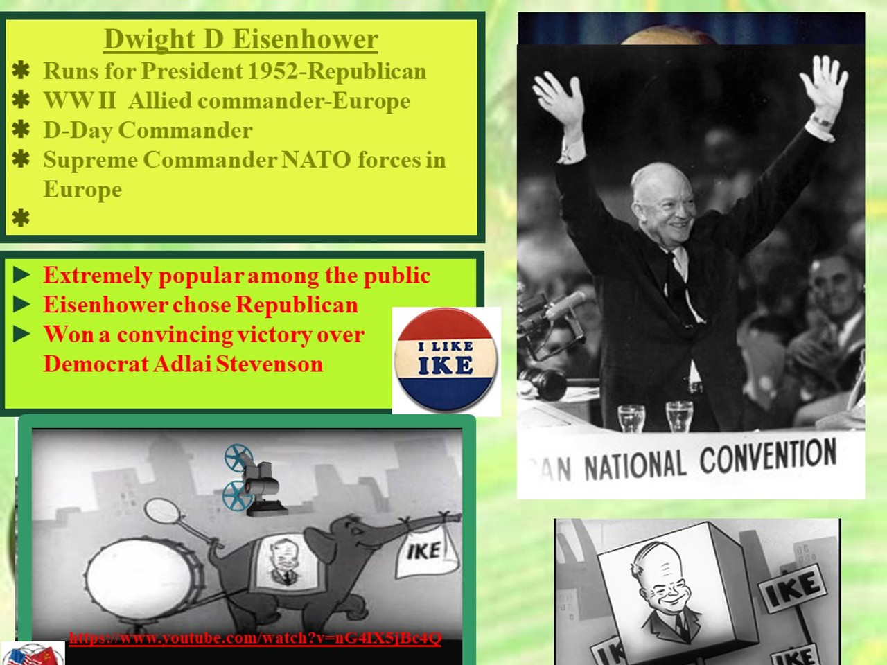 Cold War in the 50's: Eisenhower, Nuclear Threats, and Paranoia