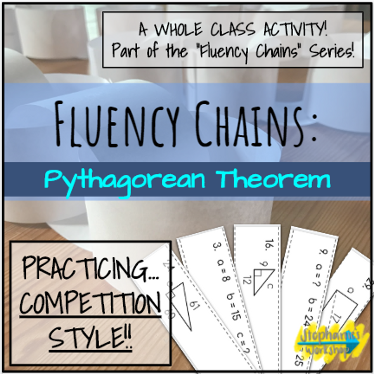 Fluency Chains - Pythagorean Theorem