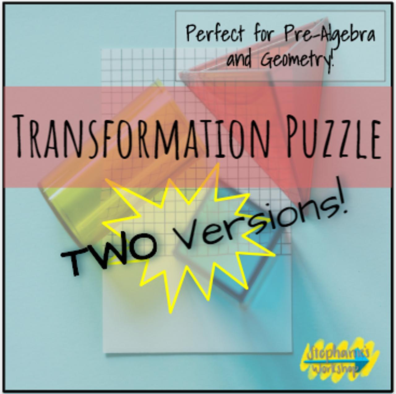 Transformation Puzzle