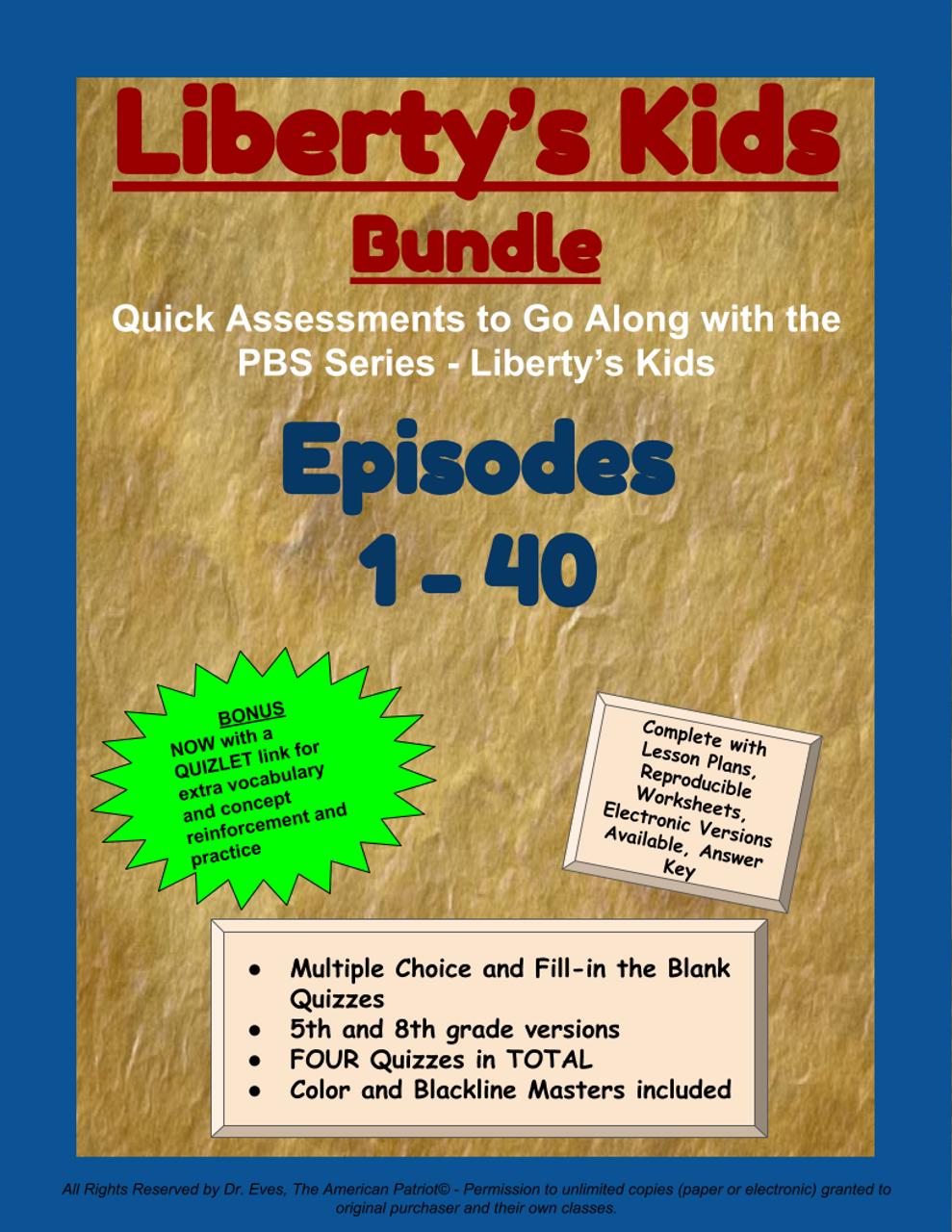 Liberty's Kids - BUNDLE - Episodes 1-40