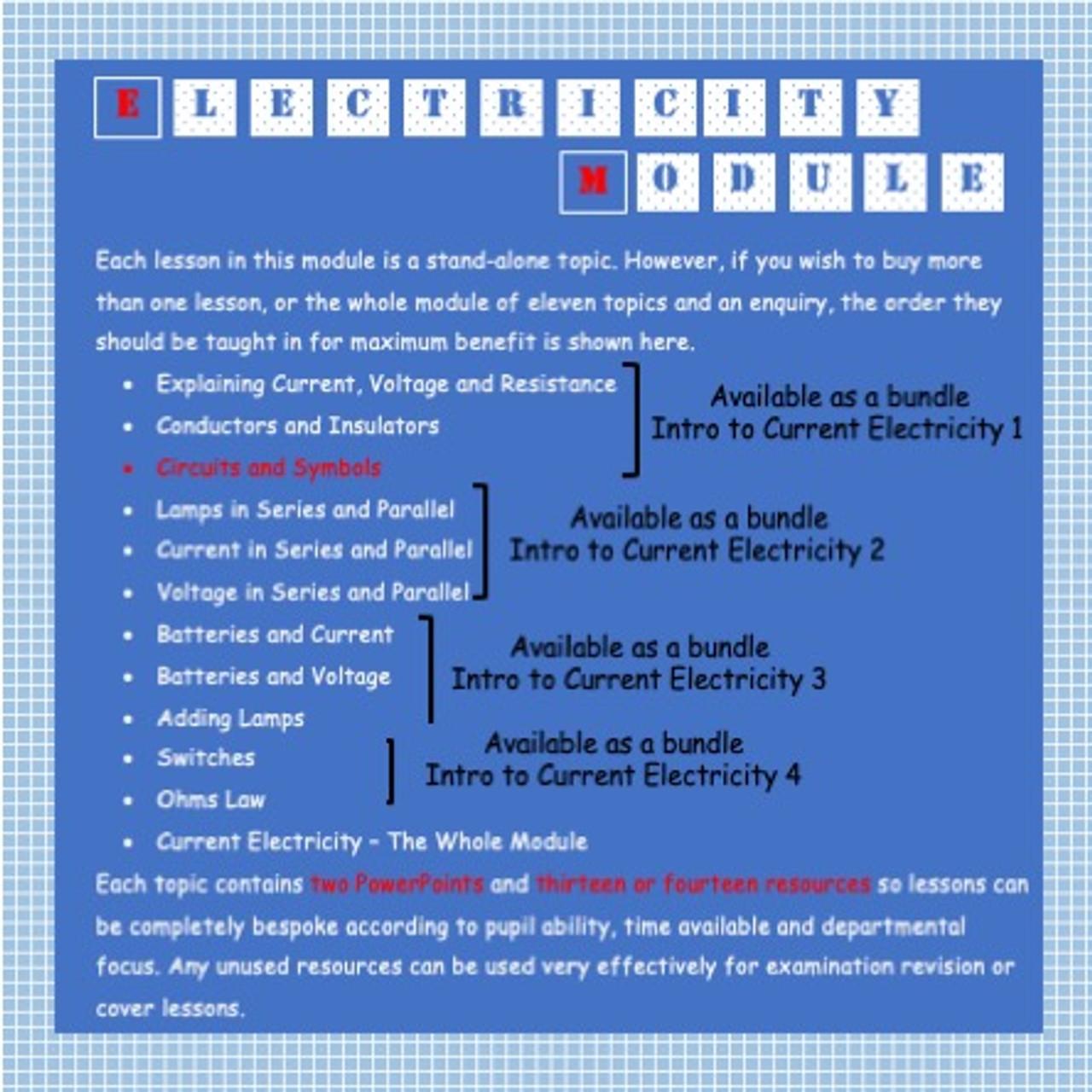 Circuits and Symbols