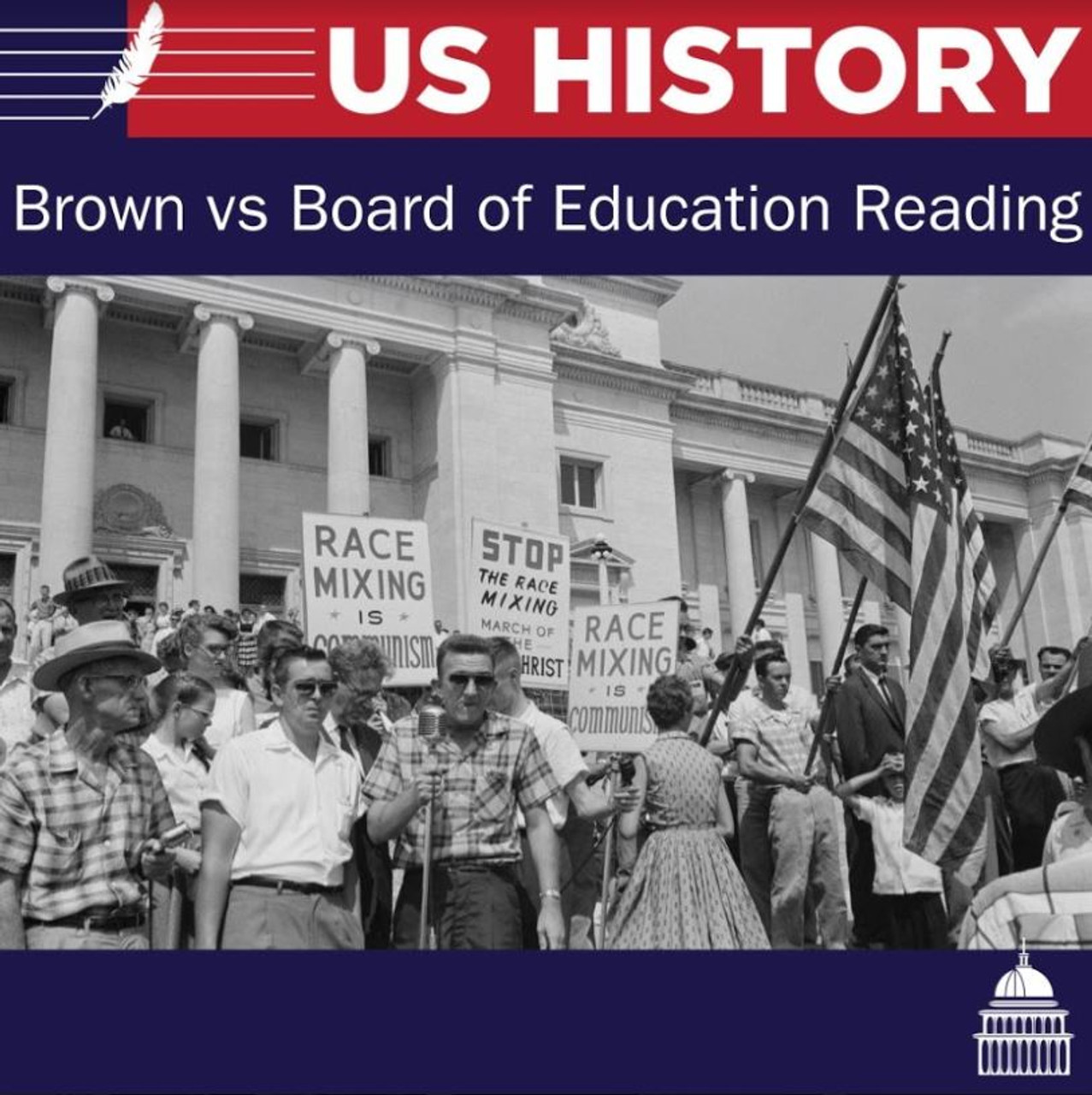 Brown vs Board of Education Reading and Questions