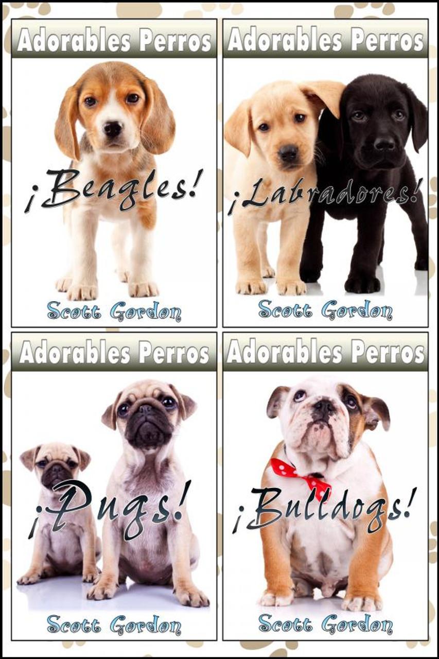 Cover - Adorables Perros Recopilación Vol. 1 (Spanish Edition)