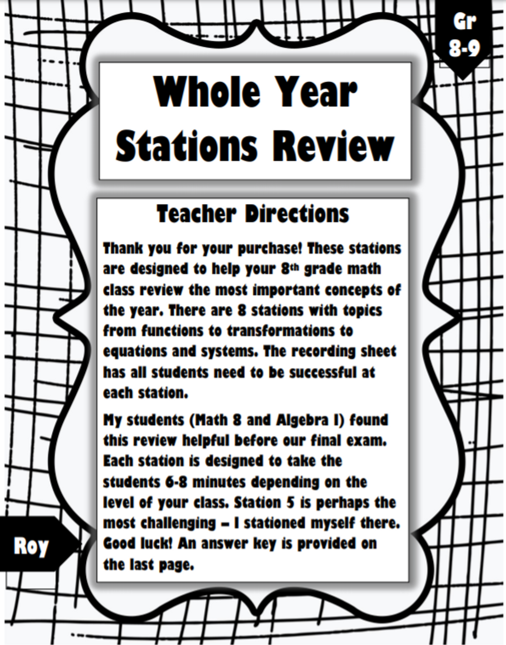 Whole Year Review: 8 Stations