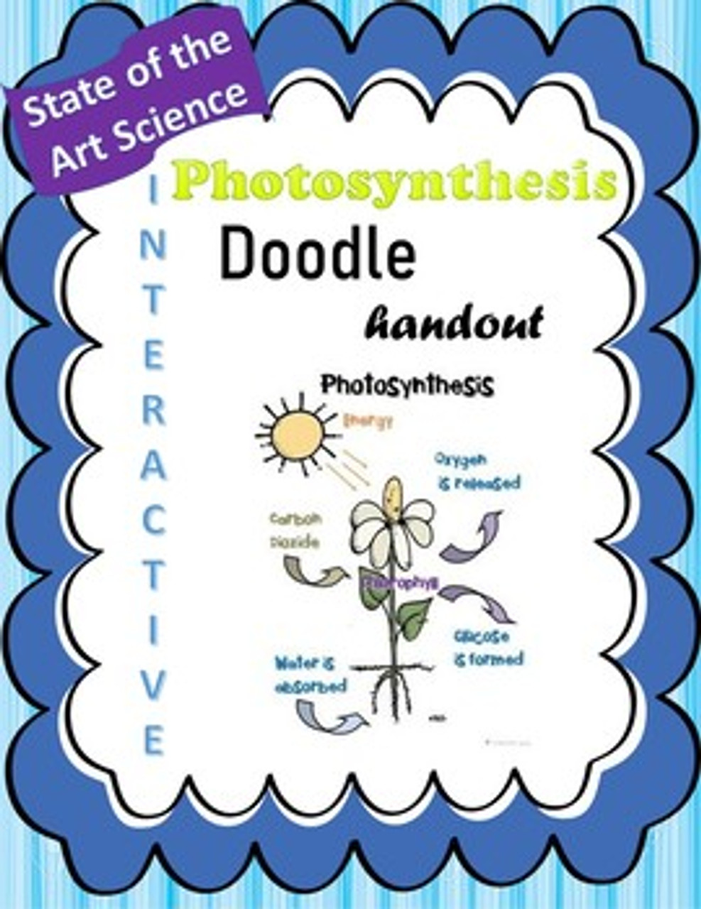 This Photosynthesis Doodle handout will have your students prepared for their next big exam!  It encourages good note-taking and simplifies a difficult concept!