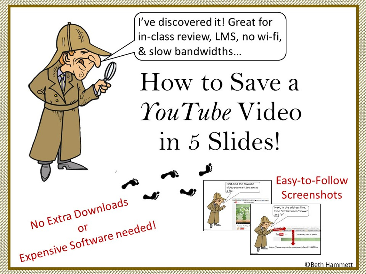 How to Save a Youtube - FREE