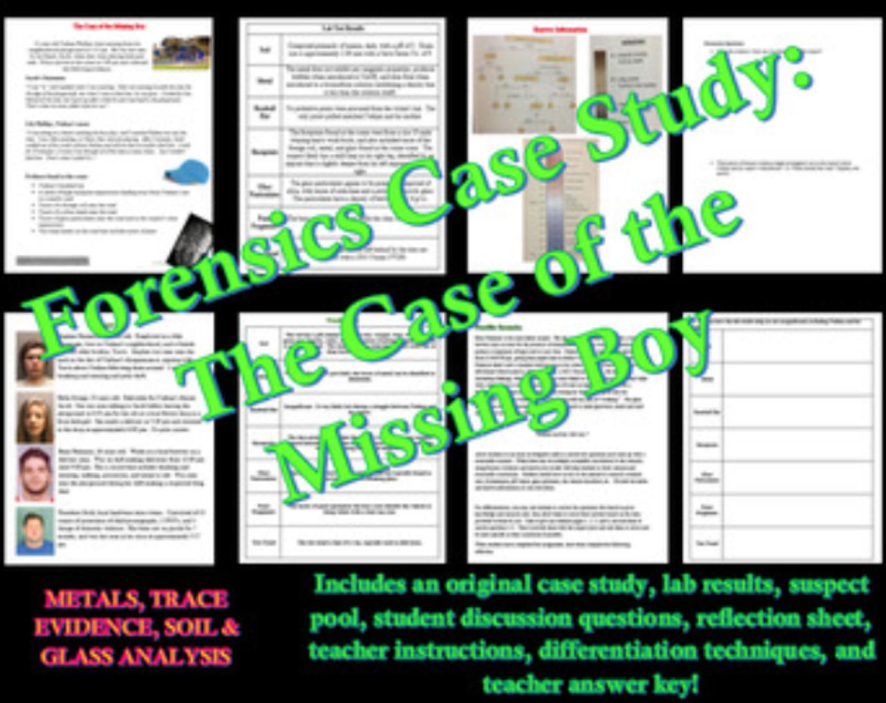 glass evidence case study