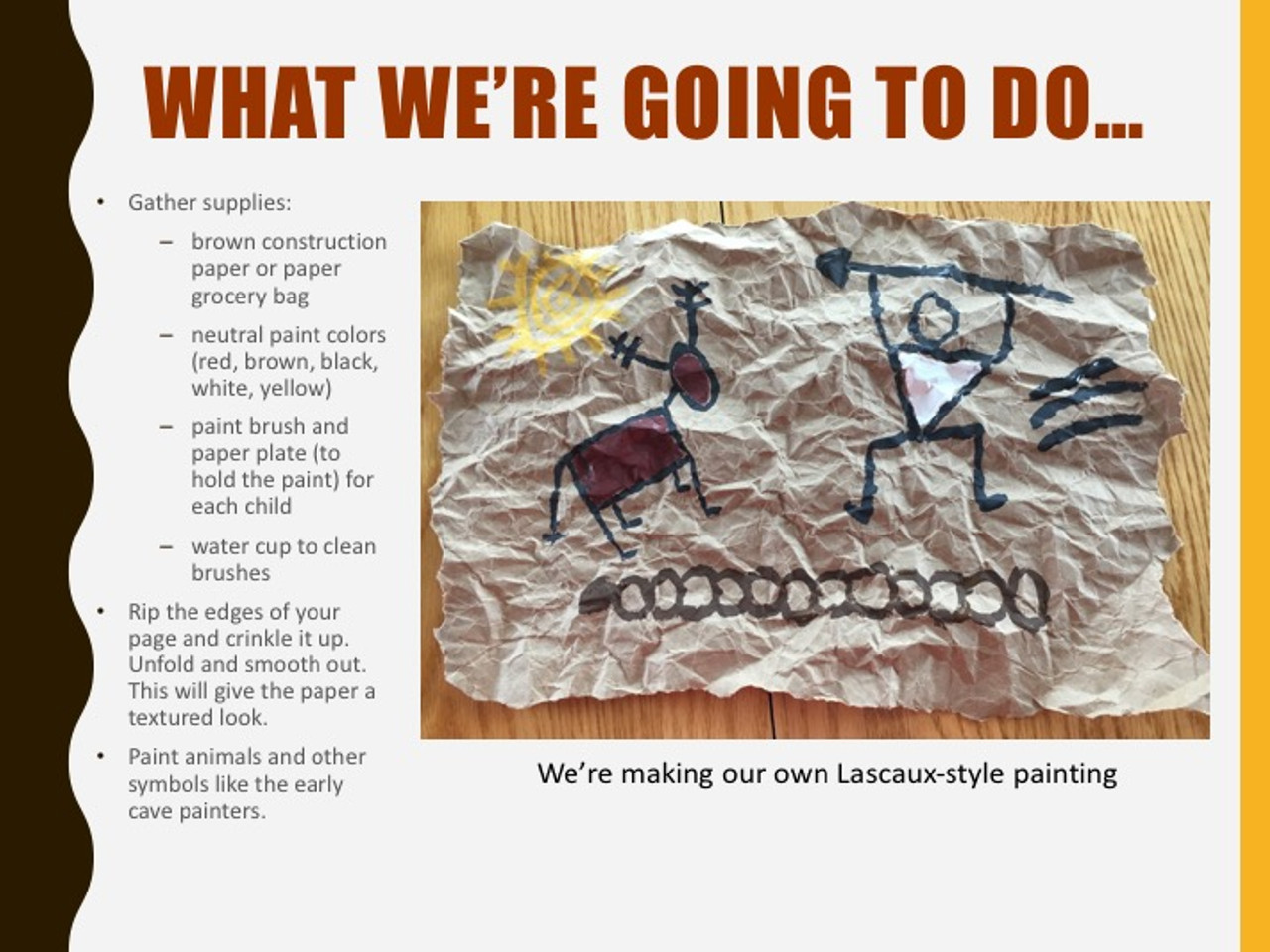 Cave Art Paintings   Lascaux Cave History and Art Lesson