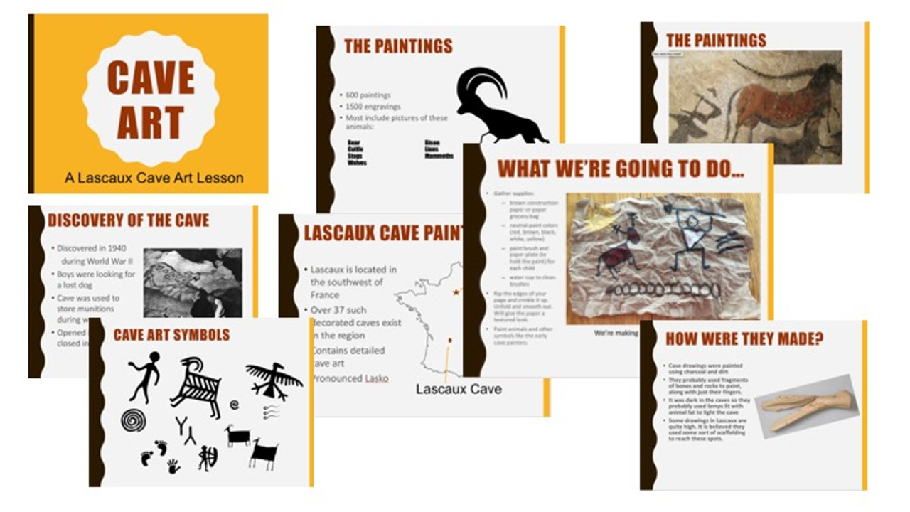 Cave Art Paintings | Lascaux Cave History and Art Lesson