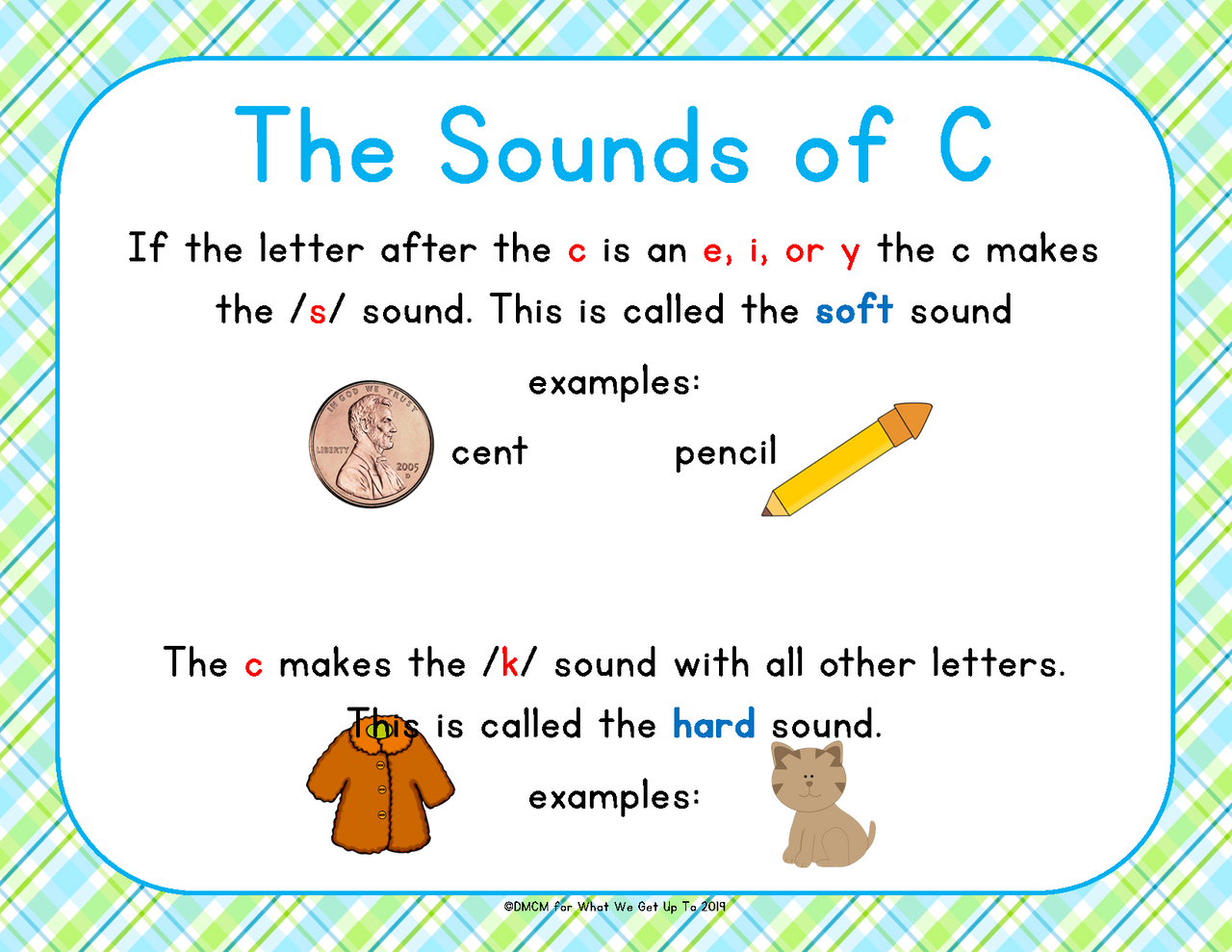 Hard and Soft c and g Sounds