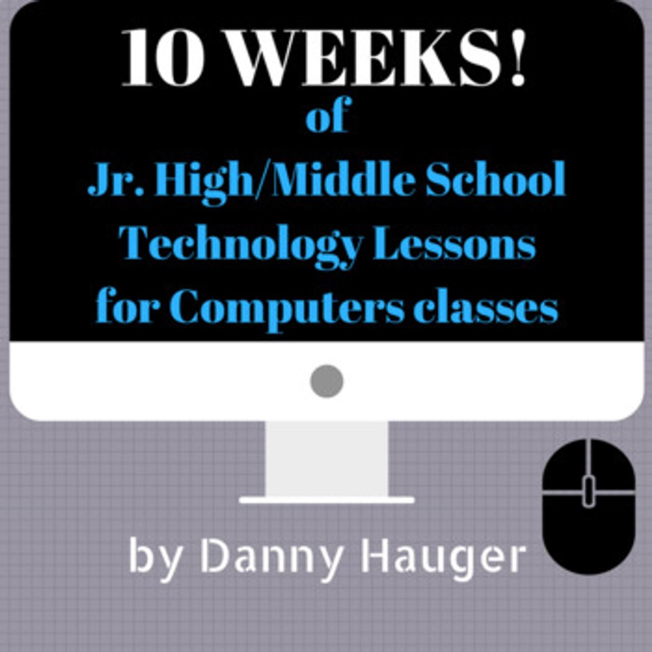 10 Week No Prep Course Jr. High Technology Computer Science Unit Plan Curriculum