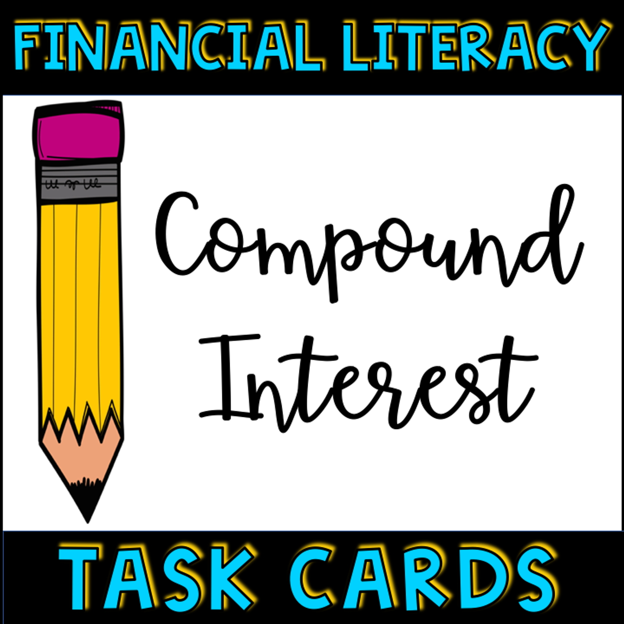 Financial Literacy Compound Interest Task Cards