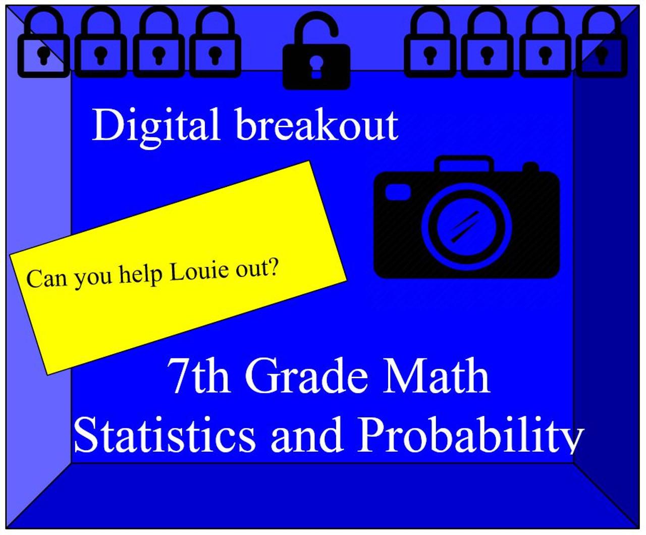 Probability and Statistics Digital Breakout