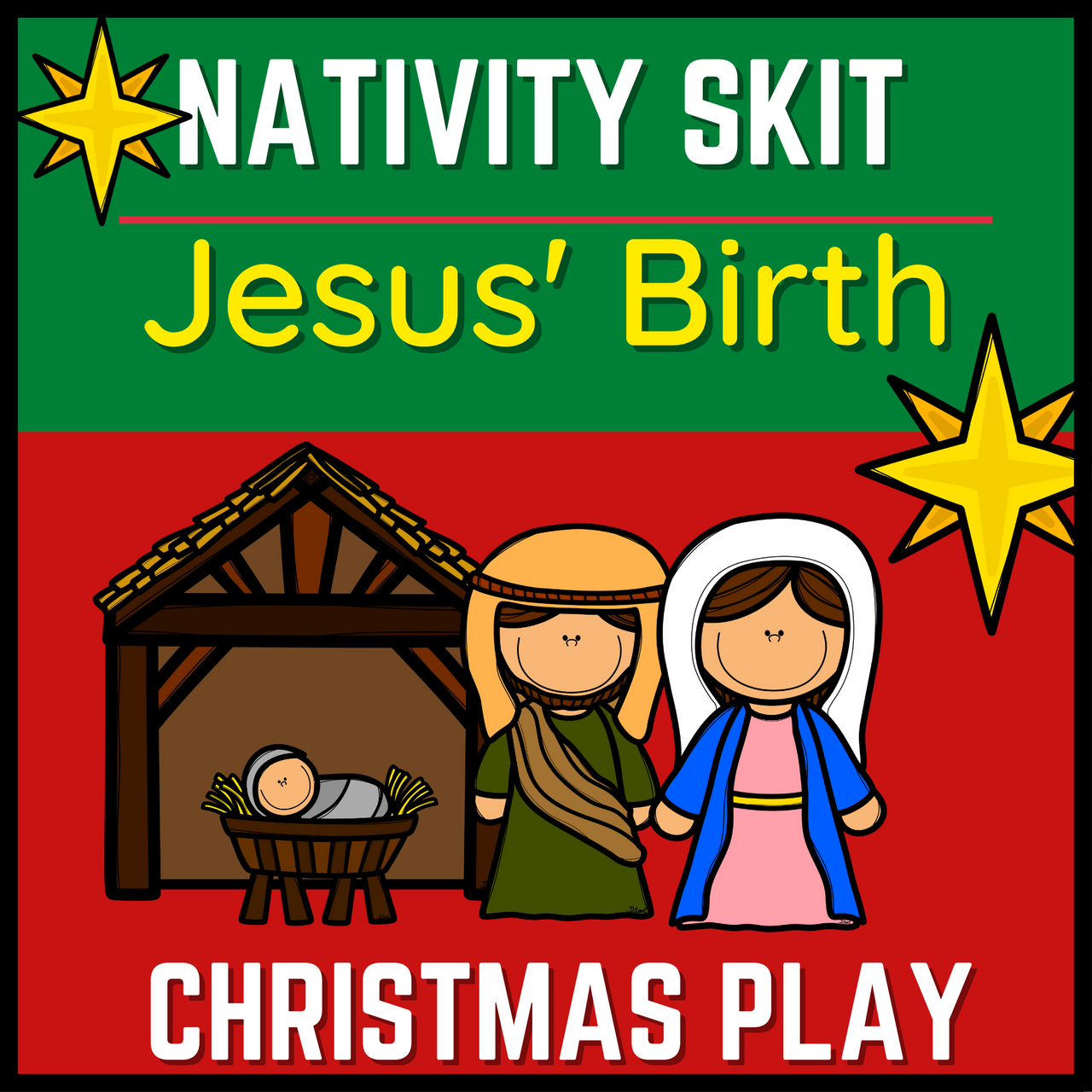 Jesus' Birth: A Christmas Skit for a Small Group