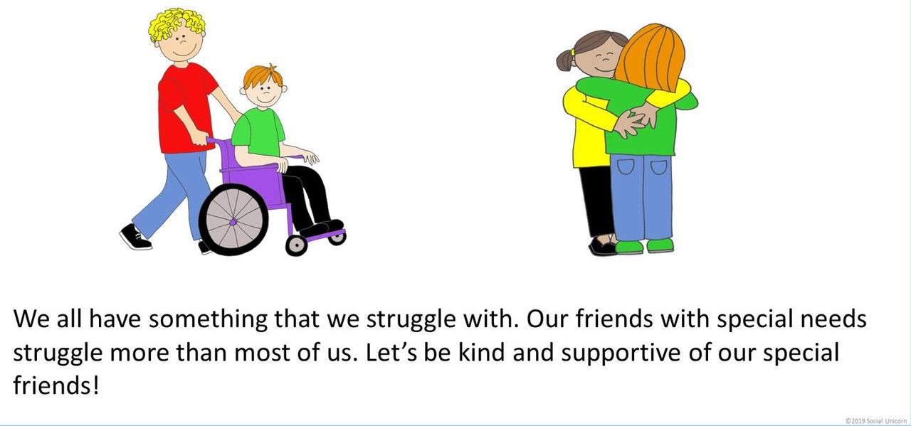My Friends with Special Needs - Social Story