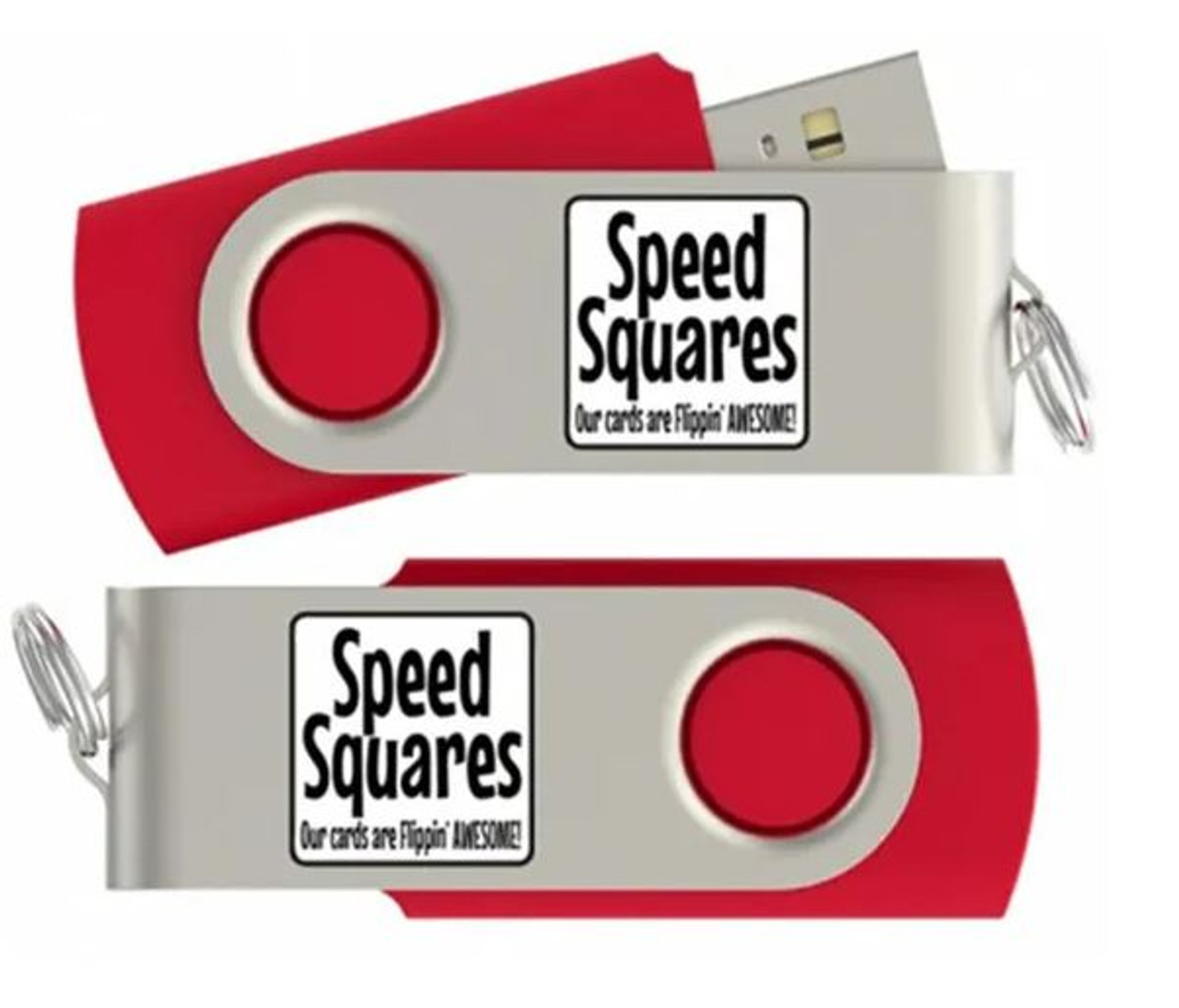 Speed Squares Flash Drive with Free Deck