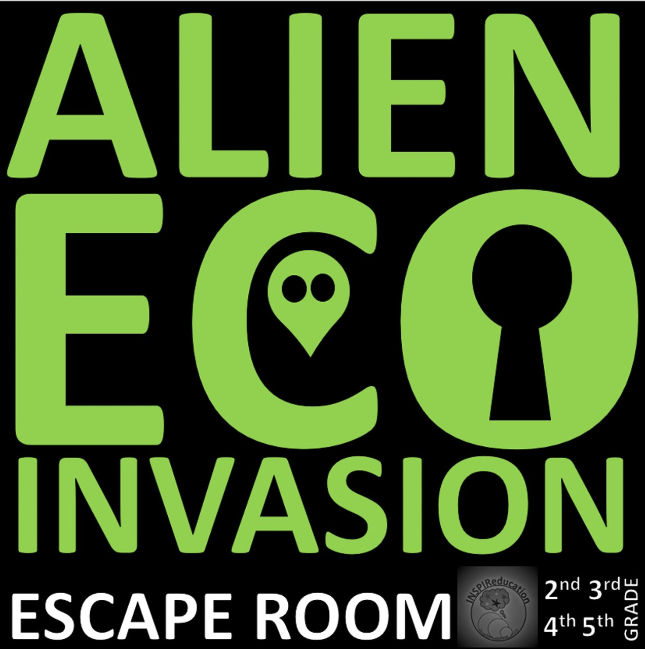 Alien Eco Invasion - Escape Room (Science and Math)