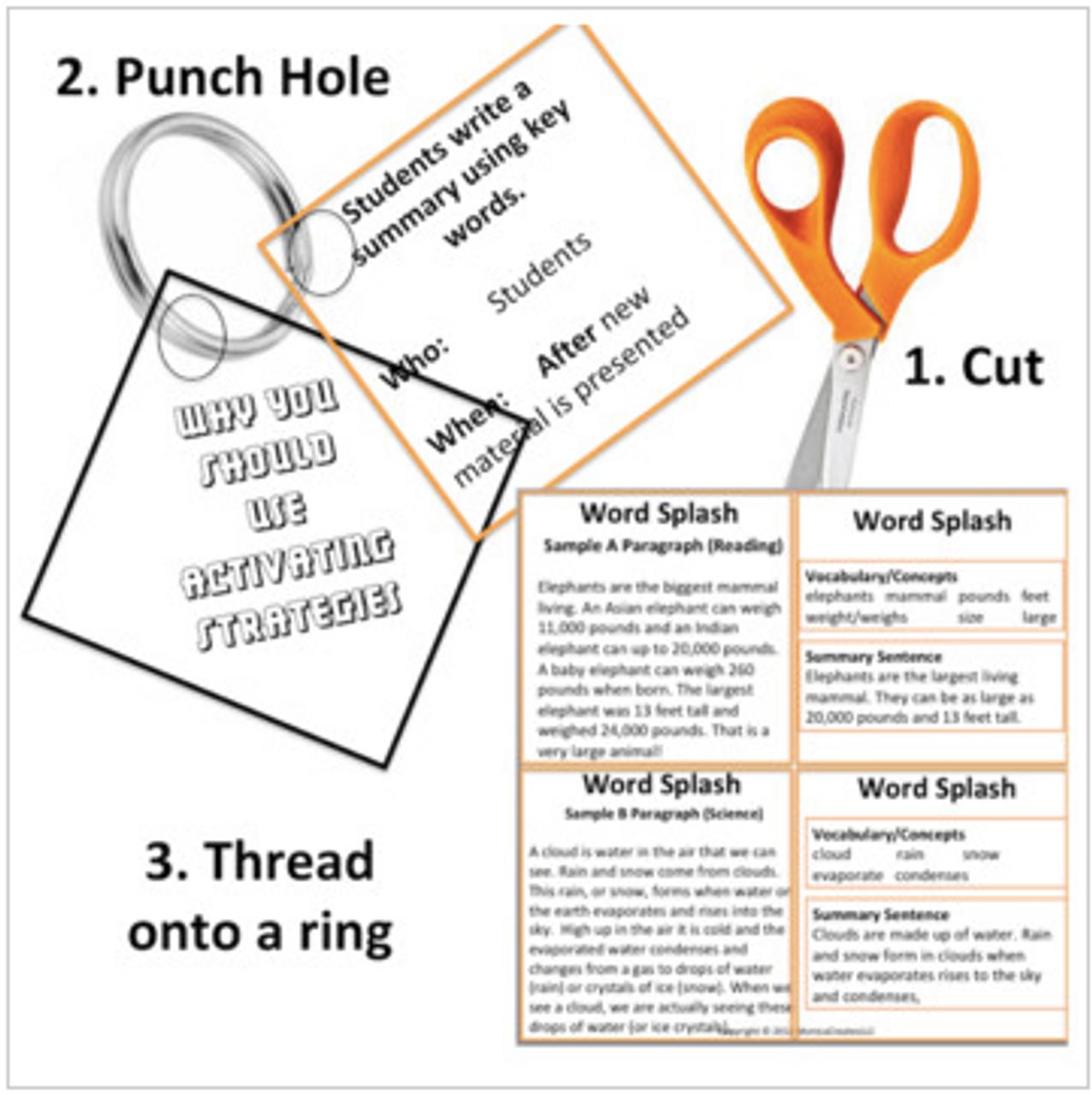 Comprehension Strategy: Context Clues: Cross-Curricular: Teacher Task Cards