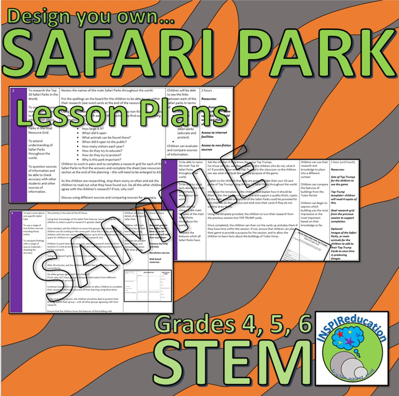 STEM: Research and Design your own Safari Park