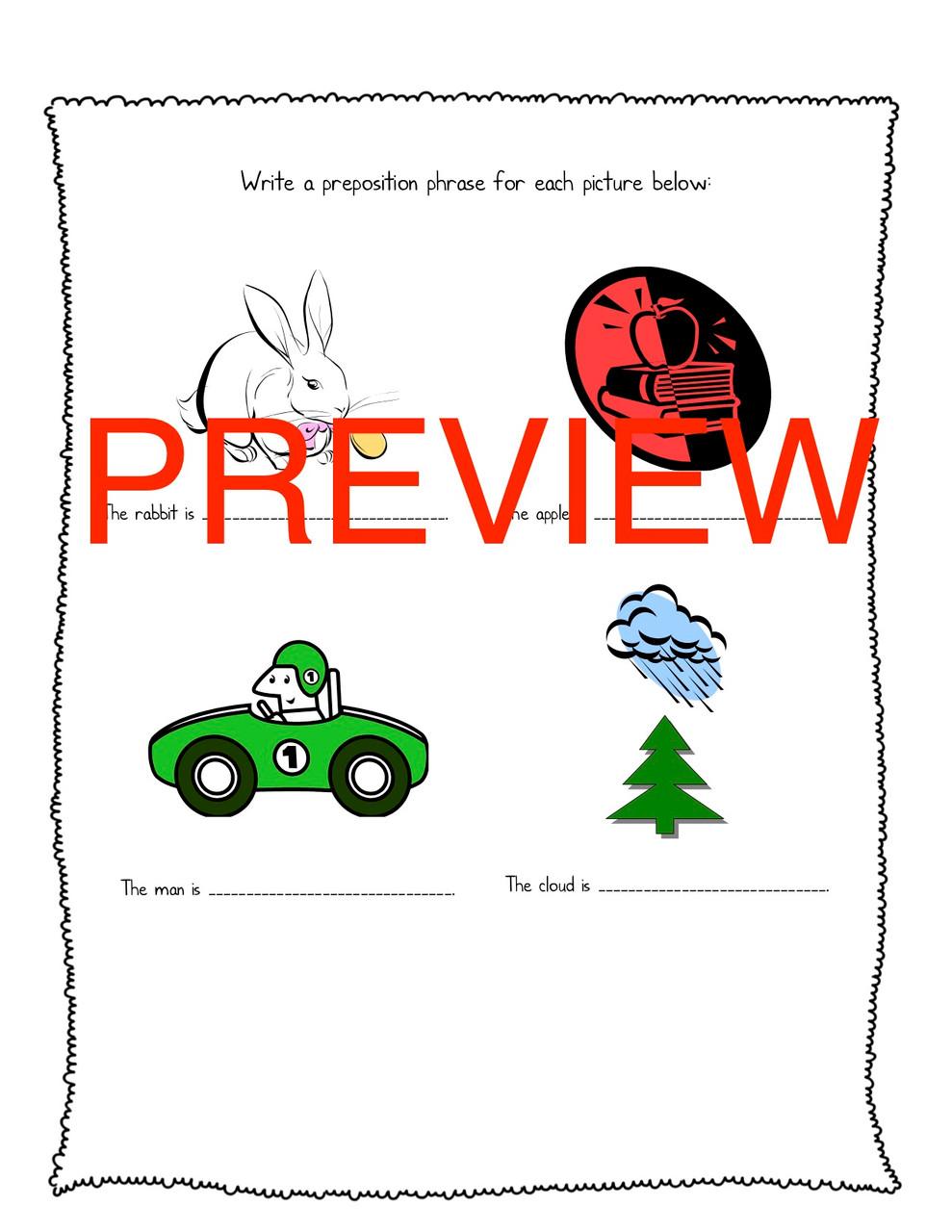 Prepositions and Pronouns