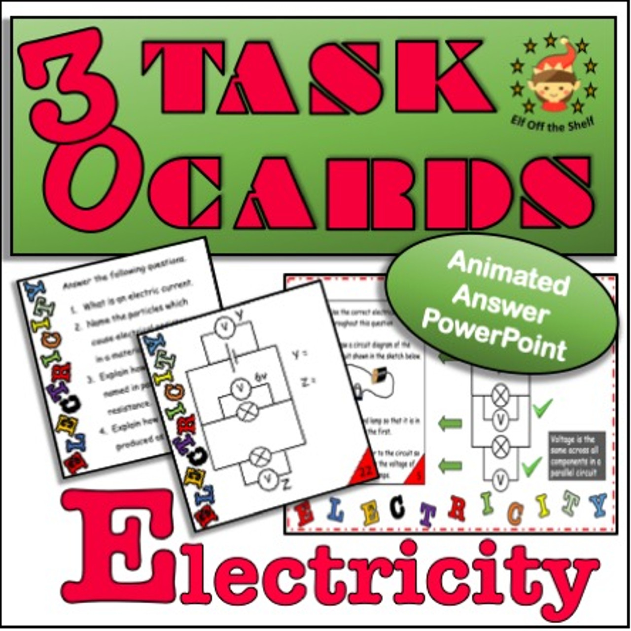 Current Electricity 30 Task Cards