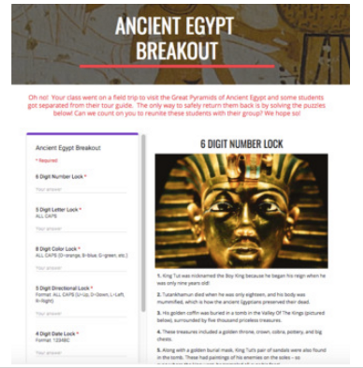 Ancient Civilizations Bundle: Hyperdocs, Choice Boards, and Digital Breakouts