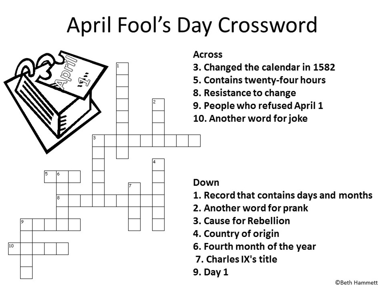 April Fool's Day Activities