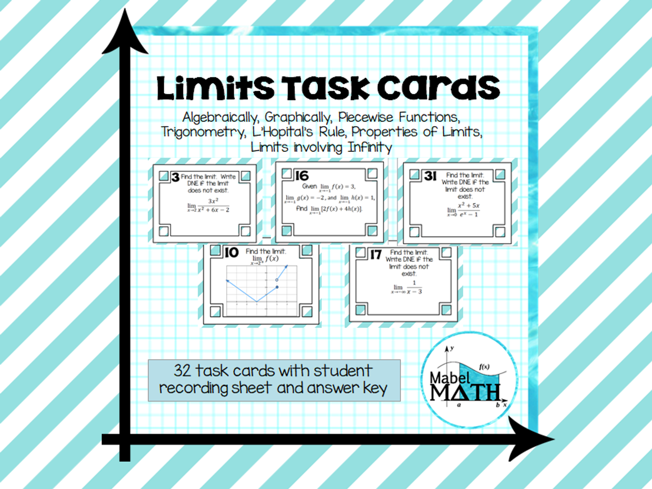 Limits Task Cards