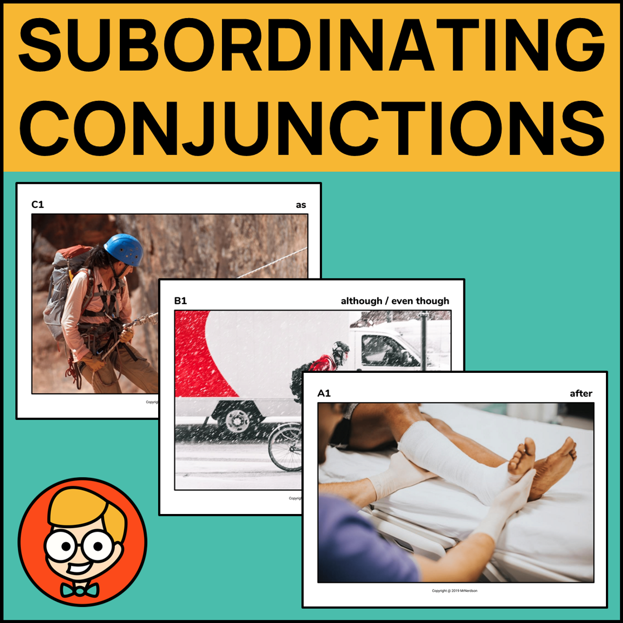 Formulating Sentences with Subordinating Conjunctions