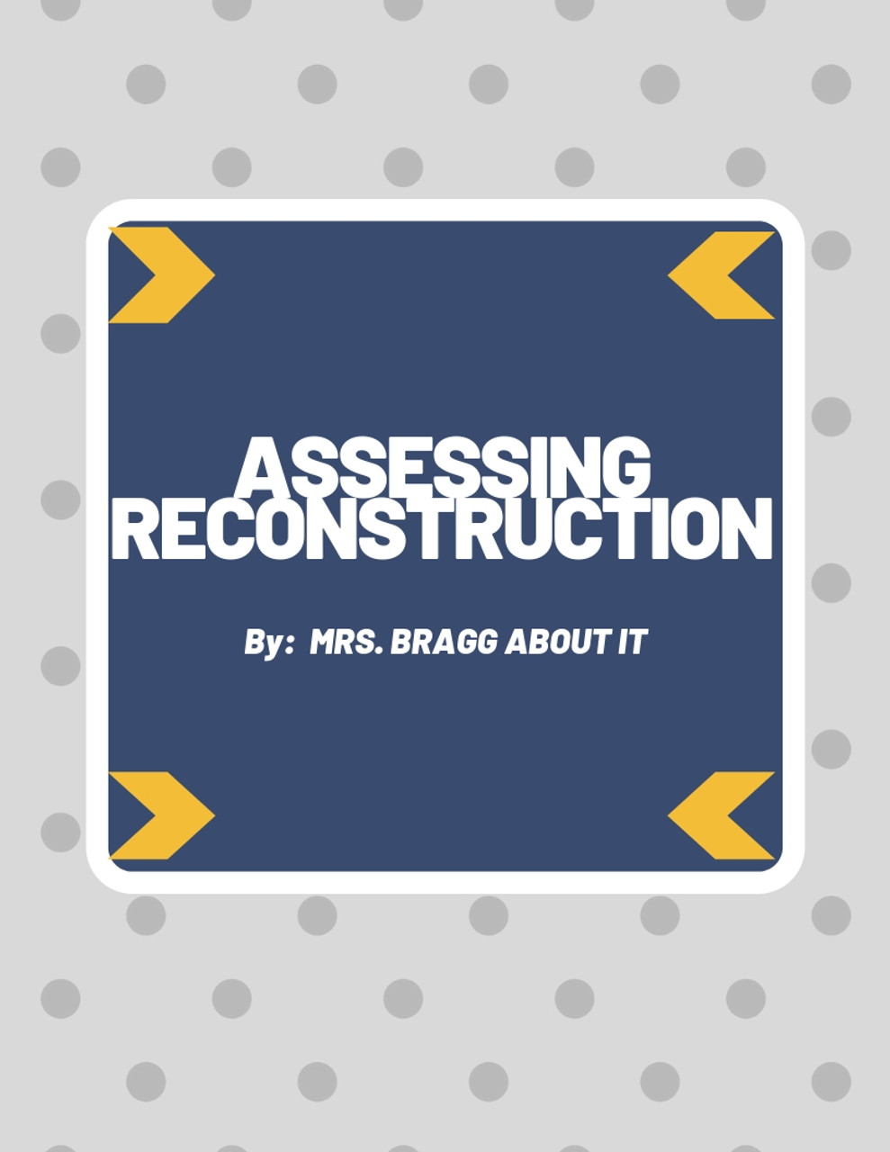 Assessing Reconstruction: Was it a Success or Failure?