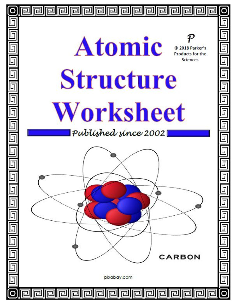 Atomic Structure Worksheet Amped Up Learning
