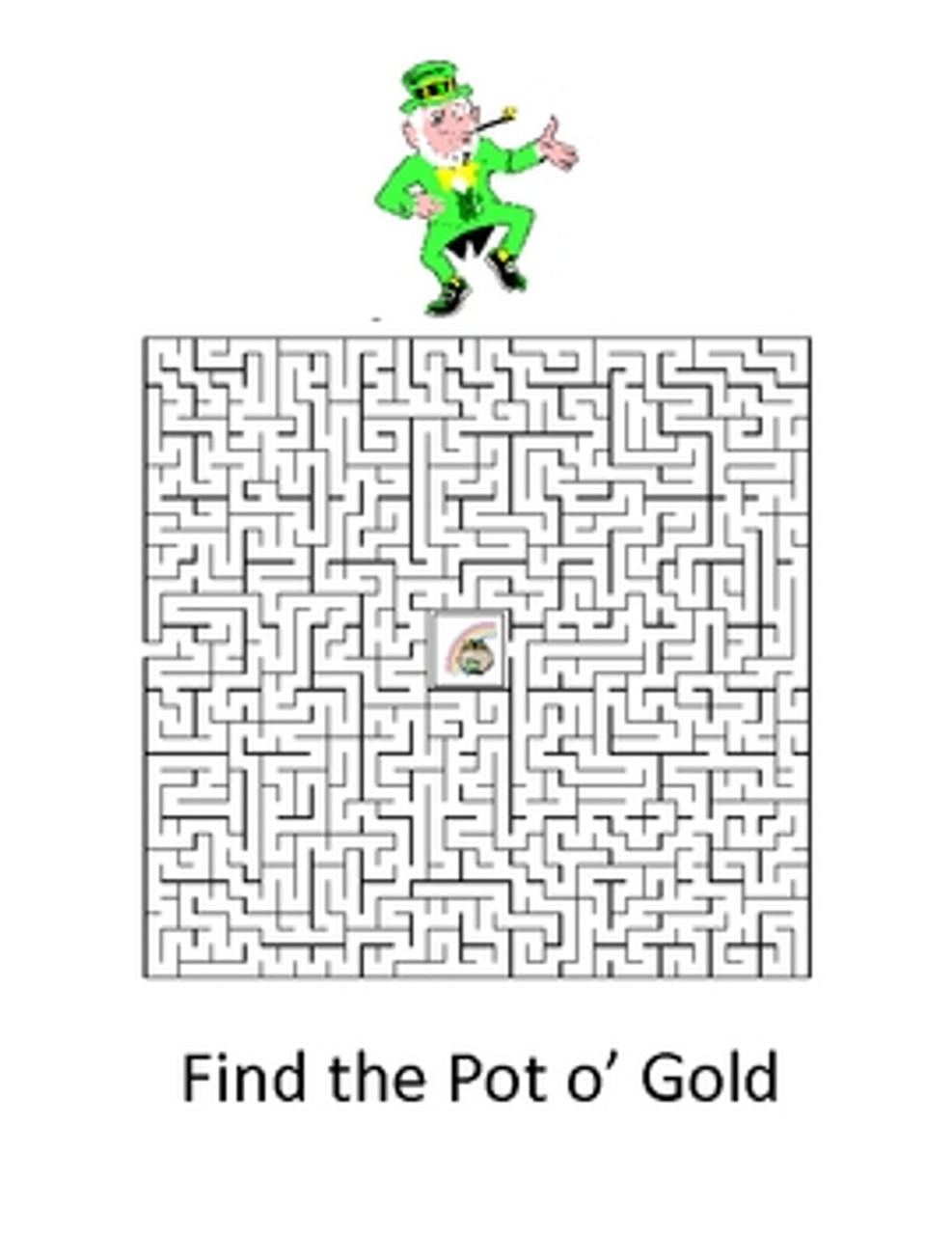 St. Patrick's Day Word Puzzles - FREE