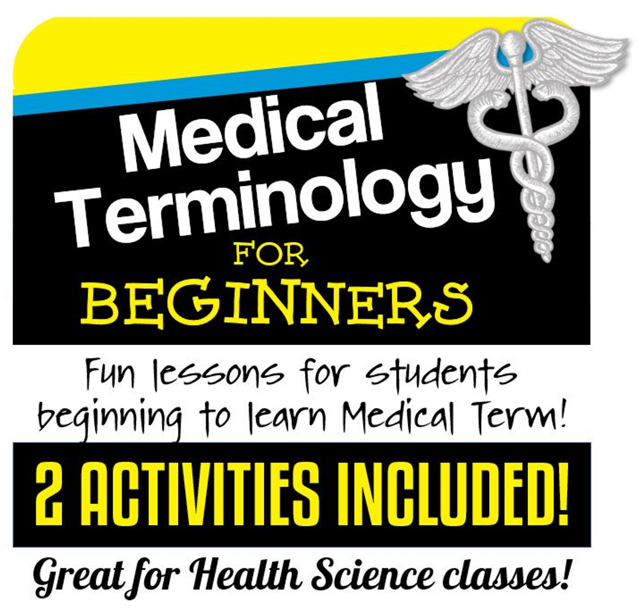Medical Terminology for Beginners- 2 Activities- Distance Learning Options!