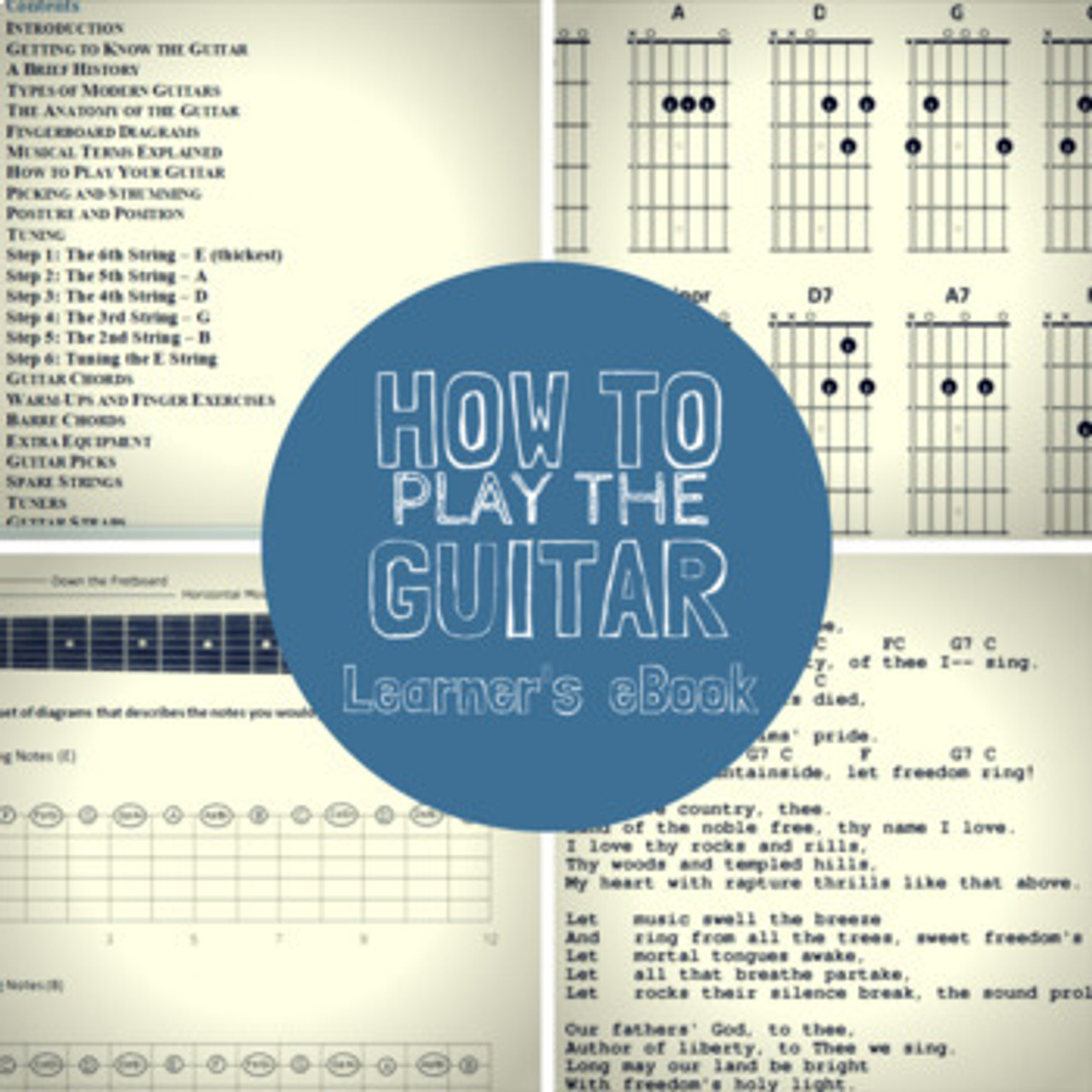 How to Play the Guitar: Learner's eBook