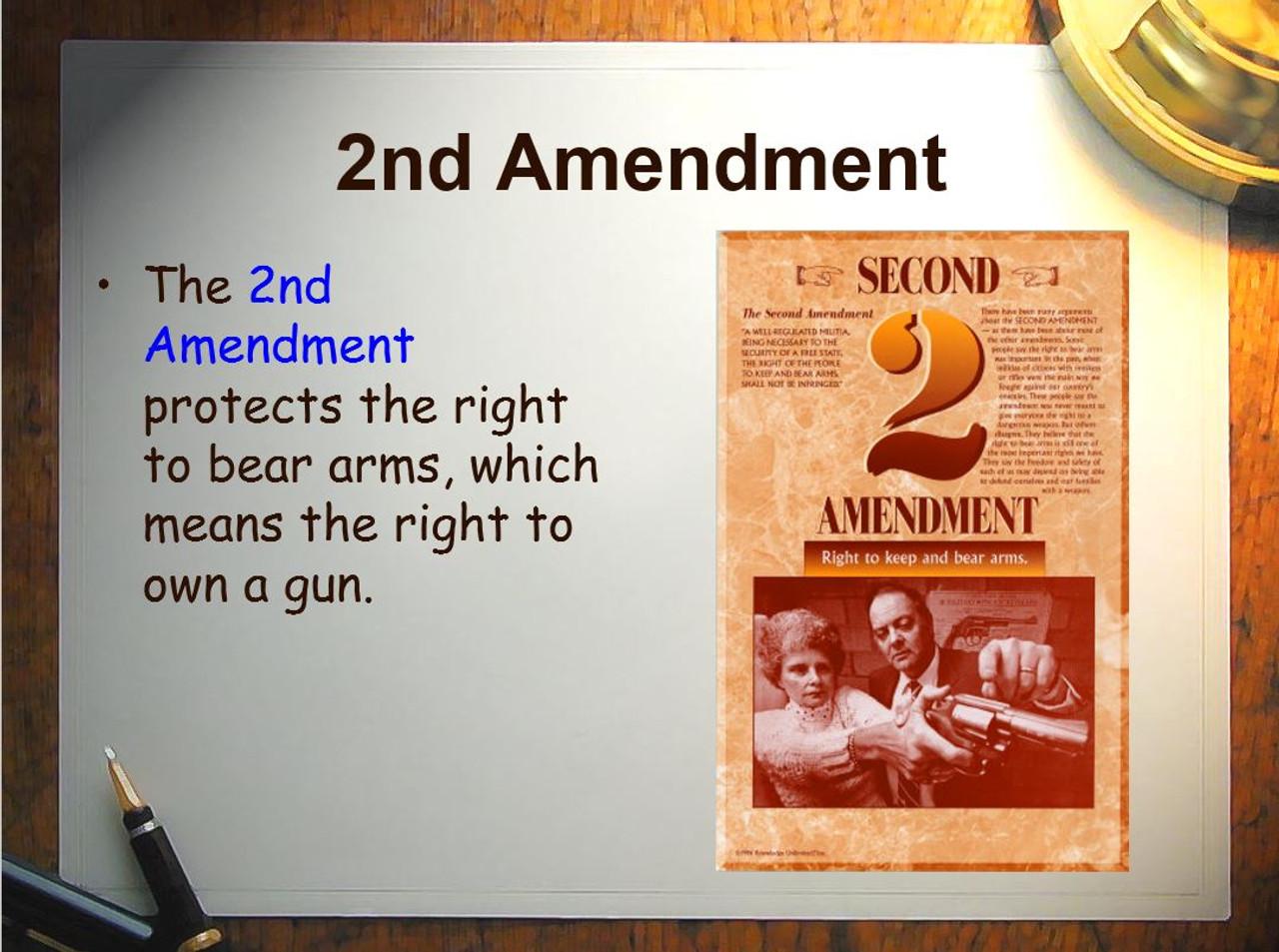 Amendments 4 Day Lesson